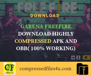 Garena Freefire download highly compressed (apk + obb